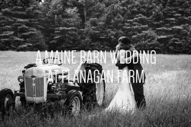 A Maine Barn Wedding at Flanagan Farm by Peter Greeno Photography