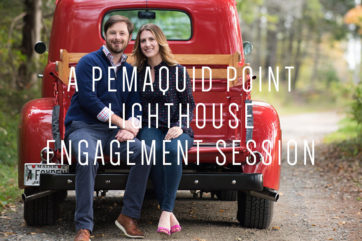Pemaquid Point Lighthouse Engagement Session with Peter Greeno Photography